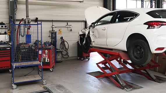 Carrosserie - Garage Bernhardt